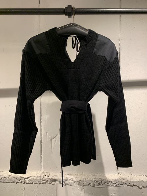 &her Army Knit/Black