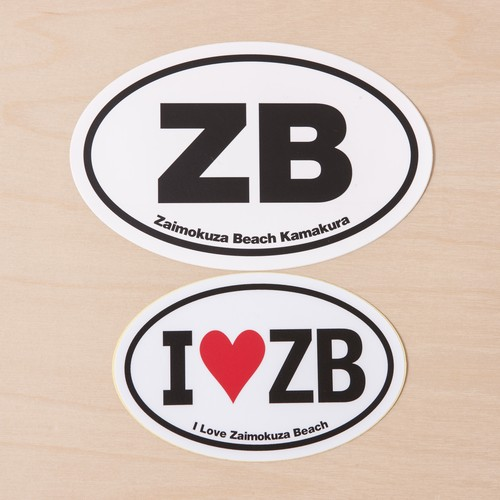 ZB stickers 2枚組
