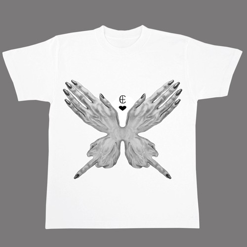 THE BUTTERFLY(ハンド)Tシャツ