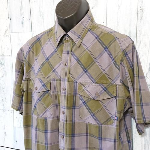 DICKIES(ディッキーズ)チェックシャツ半袖 XL RankB