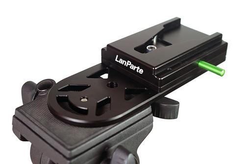 Lanparte社・MVLP-01・ENGカメラ用Monopod(一脚)V-ロックプレート