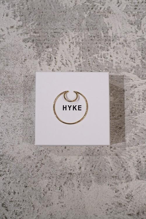 HYKE / HOOP EAR CUFF (GOLD)