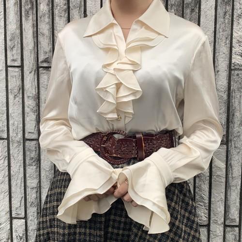 (LOOK) silk pirates blouse
