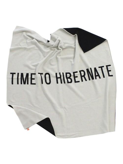 《tinycottons 2015AW》hibernation blaknet knit / cream × black