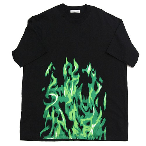 FLAME PATTERN TEE FOR K