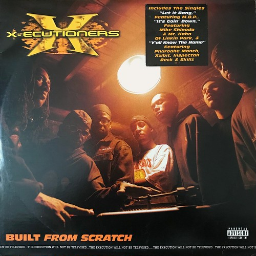 The X-Ecutioners - Built From Scratch (2×Vinyl, LP, Album, US, 2002)
