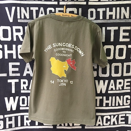 2018 TSGD POCKET T-SHIRTS  (Army green)