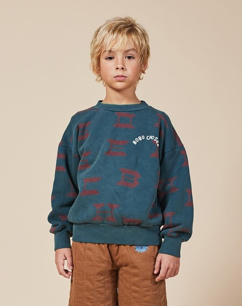BOBO CHOSES ボボショセス All Over Sweatshirt size:2-3Y(100)~8-9Y(130)