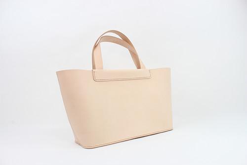 JAPAN LANSUI DESIGN 名入れ対応 ヌメ革手作り手縫い ミニトートバッグ 品番NJD8JSFS