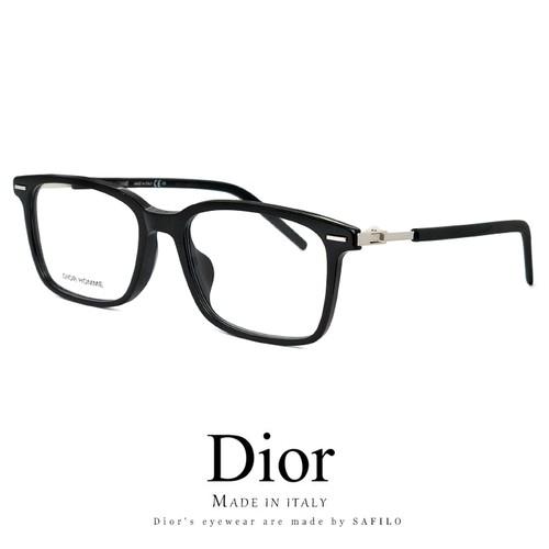 メンズ DIOR HOMME メガネ technicity06f-807 眼鏡 ディオール オム スクエア ウェリントン