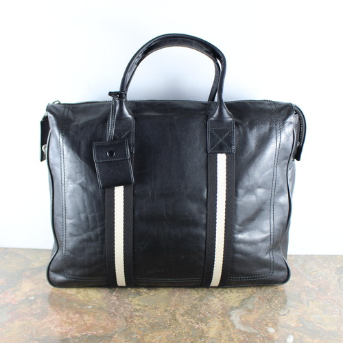 .BALLY LINE LEATHER BUSINESS BAG MADE IN ITALY/バリーラインレザービジネスバッグ2000000054995
