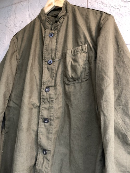 1960s Czech military stand collar jacket 1pocket