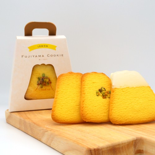 【夏季限定】フジヤマクッキー 3枚入り レモン