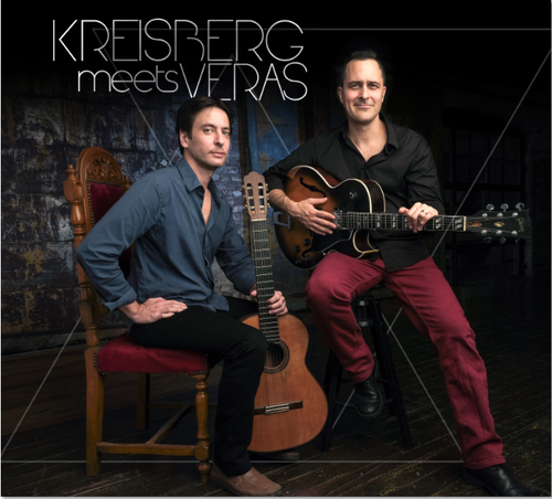 "Jonathan Kreisberg & Nelson Veras ""KREISBERG meets VERAS"" - CD ジョナサン・クライスバーグ&ネルソン・ヴェラス  - ""クライスバーグ・ミーツ・ヴェラス"""