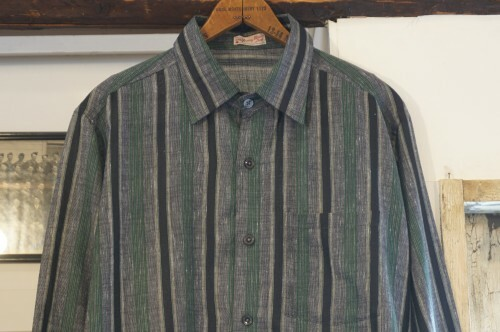 early 60's the 212 young man's shop striped Shirt