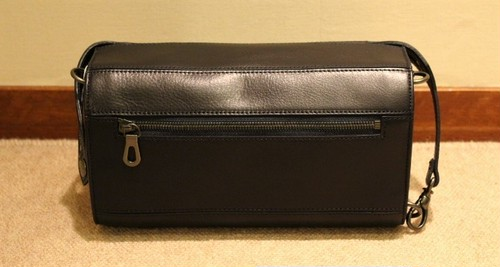HERGOPOCH 2Way Clutch&Shoulder Bag MG-PSL Navy