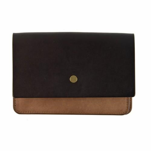 forme hand wallet combi Liscio D.BROWN