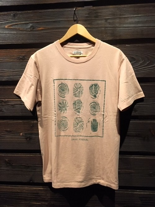 Banks Journal  Spuds Tee  ATS0446  S.Pink Mサイズ