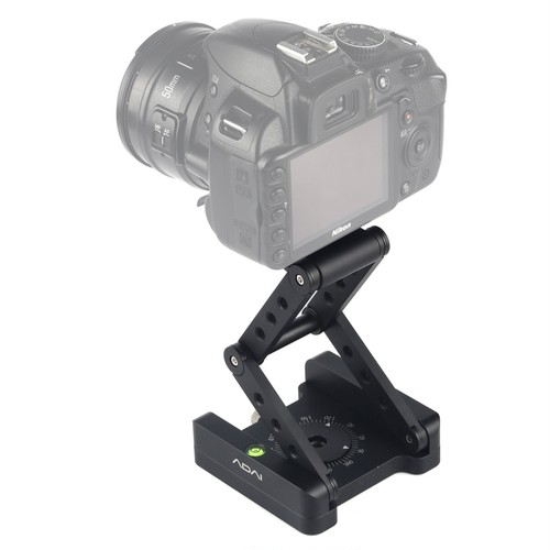 ADAI社・360 Degree Rotation 3-Folding Quick Release Plate Holder Tripod M Flex Tilt & Ball Head