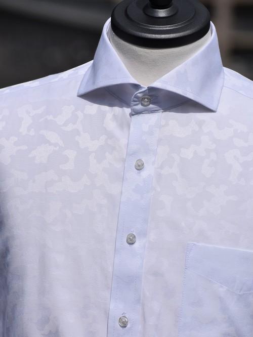 迷彩柄シャツ(ホワイト) R405C
