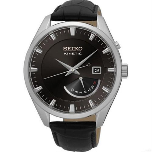 セイコー SEIKO キネティック クオーツ メンズ 腕時計 SRN045P2 ブラック ブラック
