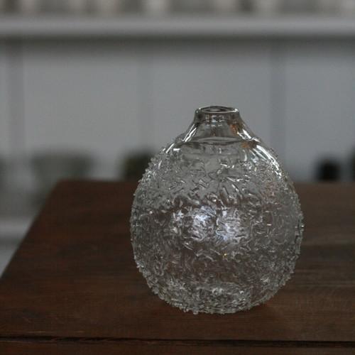小國香織 花器(大雪)
