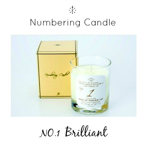 Numbering Candle NO.1