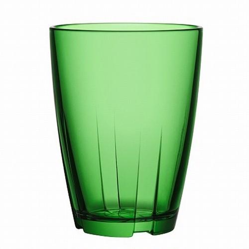 """Kostaboda コスタボダ BRUK グラス """"ハンドメイド"""" タンブラー (L) アップルグリーン (7091614)"""