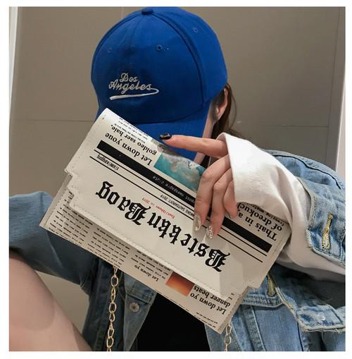 【小物】新入CHICファッションレトロ合わせやすい封筒チェーンカバン
