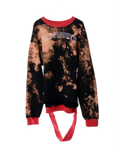 Remake Ring Sweater -Black-