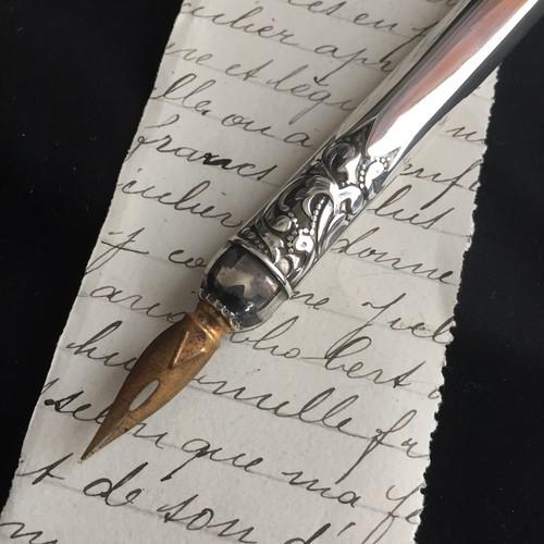Vintage silver pen