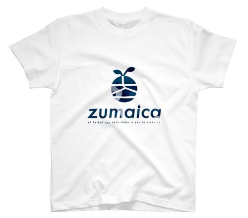 【Navy kamo】White T-Shirt