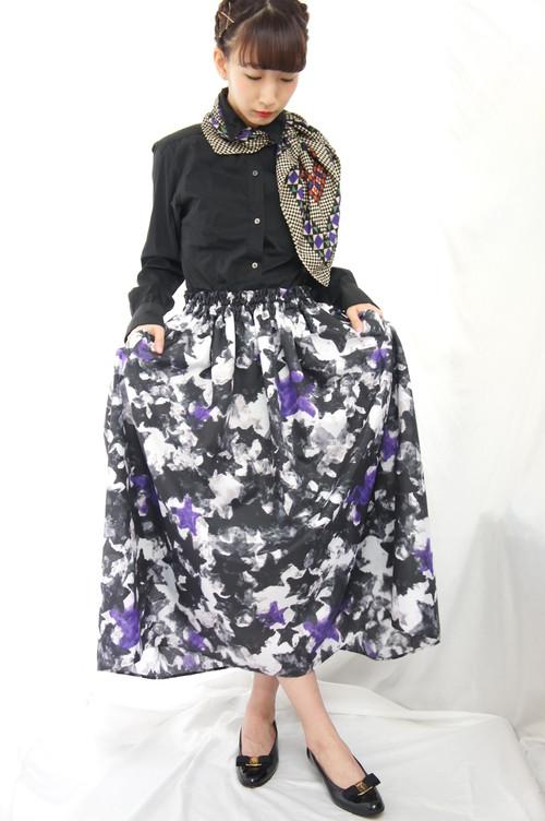 モード星迷彩スカート