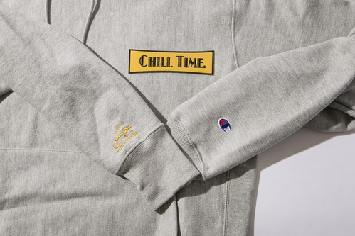 CHILL TIME CHAMPION HOODY