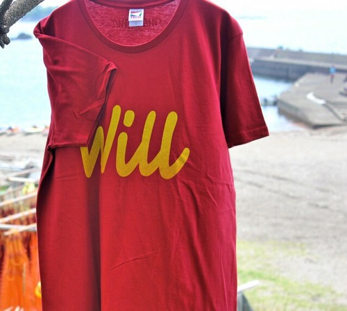Team -Will- T-shirts 【Burgundy】