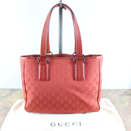 .GUCCI GG PATTERNED TOTE BAG MADE IN ITALY/グッチGG柄トートバッグ 2000000048062