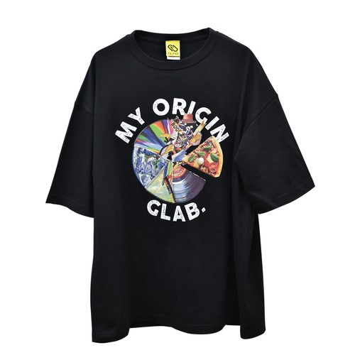 MY ORIGIN BIG T-Shirts / Black