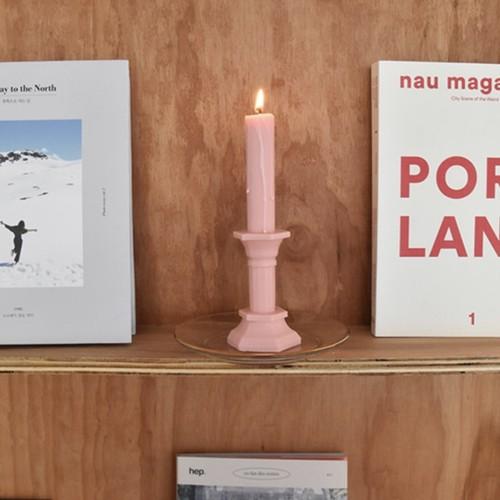 lyon pink candle / オブジェ アロマキャンドル 韓国雑貨