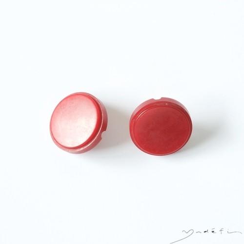 yy017_ヴィンテージ・イヤリング<Rouge>