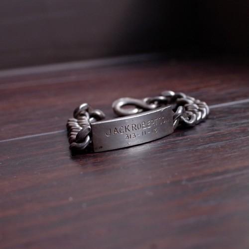 WWII US Military ID Bracelet / BALFOUR 社製 / Sterling Silver / 40年代 バルフォア ブレスレット スターリング シルバー