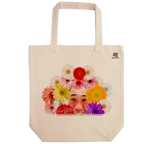 《江頭2:50エコバッグ》TB-E007-M/ Fairy of flower( M)