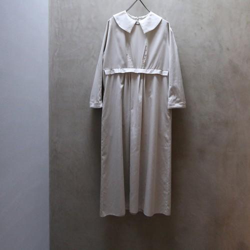 Suie(スィ) Puritan's Collar Dress Beige 【受注オーダー】