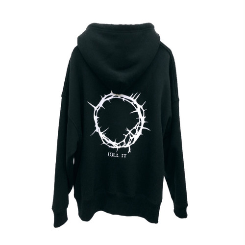 ILL IT - BOUQUET LOGO HOODIE (BLACK)