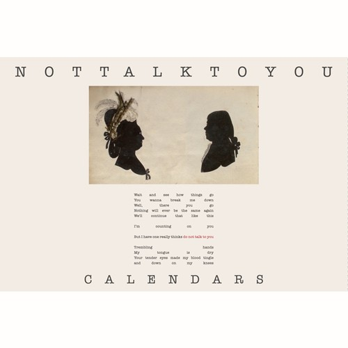"Postcards+New Song ""Not Talk To You"" DL CODE *100limited*"