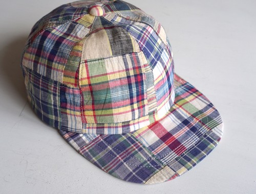 """BB"" 90's Patchwork Madras"