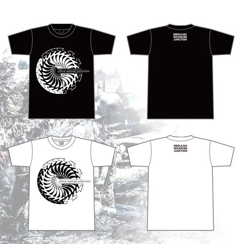 "T-shirt - Seahorse+barcode ""White"" / ""Black""-"