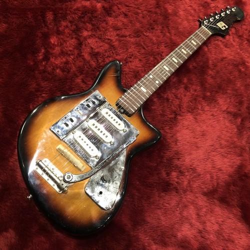 c.1960s Guyatone LG-130T ビザールギター 調整済み 6か月保証