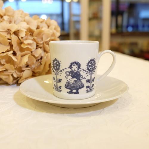 "60's Vintage Cup&Saucer ""Weiden BAVARIA"" from AMSTERDAM  [CCV-35]"