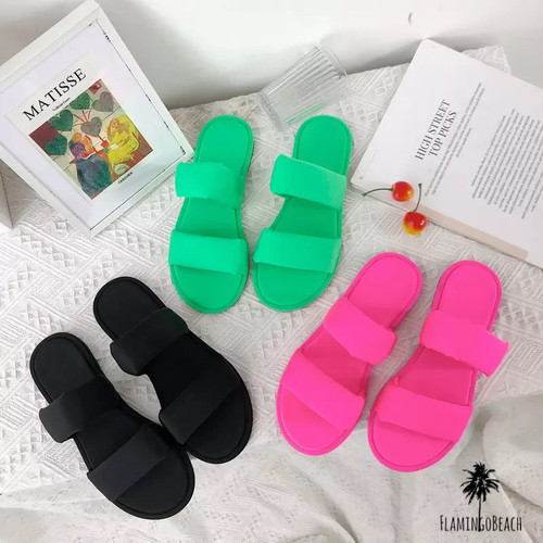 【FlamingoBeach】neon sandals ネオンサンダル 44698