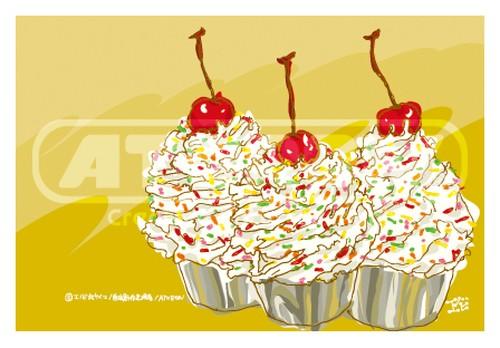 アメリカーのケーキ